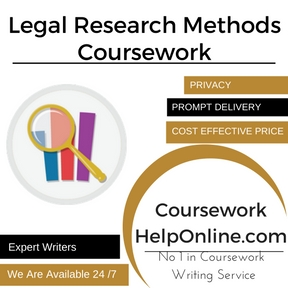 Legal Research Methods Coursework Writing Service