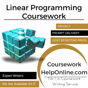 Linear Programming Coursework Writing Service
