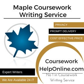 Maple Coursework Writing Service
