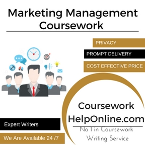 Marketing Management Coursework Writing Service