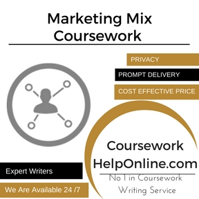 Marketing Mix Coursework Writing Service