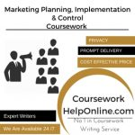 Marketing Planning, Implementation & Control