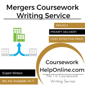 Mergers Coursework Writing Service