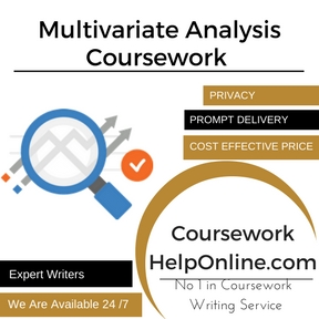 Multivariate Analysis Coursework Writing Services