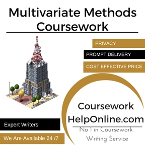 Multivariate Methods Coursework Writing Service