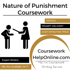 Nature of Punishment Coursework Writing Service