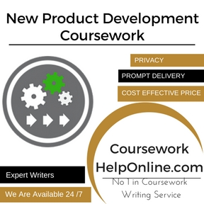 New Product Development Coursework Writing Service