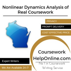 Nonlinear Dynamics Analysis of Real Coursework Writing Service