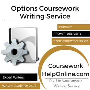 Options Coursework Writing Service