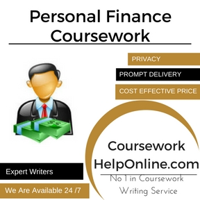 Personal Finance Coursework Writing Service