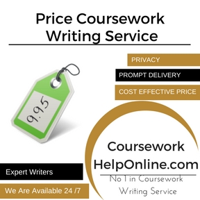 Price Coursework Writing Service