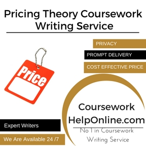 Pricing Theory Coursework Writing Service
