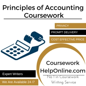 Principles of Accounting Coursework Writing service