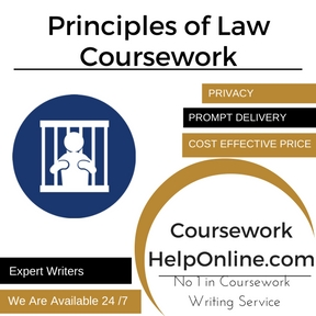 Principles of Law Coursework writing Service