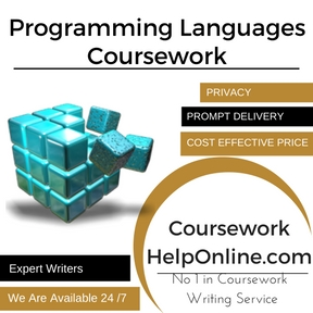 Programming Languages Coursework Writing Service