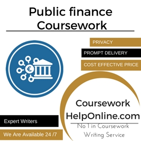 Public finance Coursework writing Service