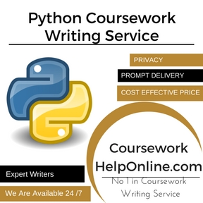 Python Coursework Writing Service