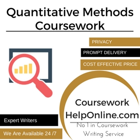 Quantitative Methods Coursework Writing Service