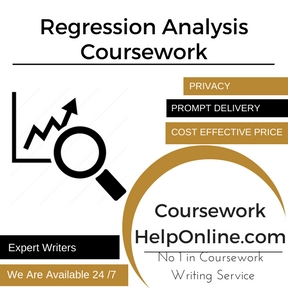 Regression Analysis Coursework Writing Service