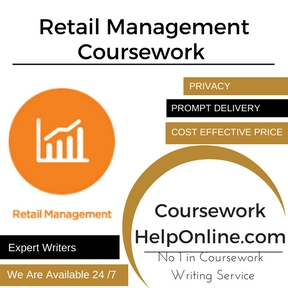 Retail Management Coursework writing service