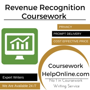 Revenue Recognition Coursework Writing Service