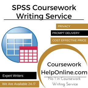 SPSS Coursework Writing Service