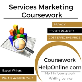 Services Marketing Coursework Writing service
