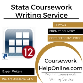 Stata Coursework Writing Service