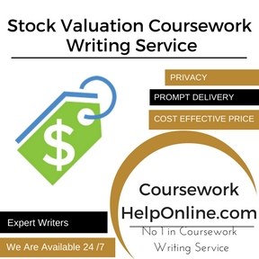Stock Valuation Coursework Writing Service