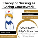 Theory of Nursing as Caring