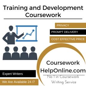 Training and Development Coursework Writing Service