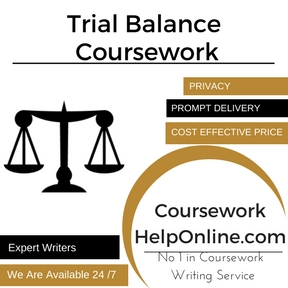 Trial Balance Coursework Writing Service