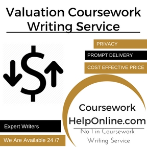 Valuation Coursework Writing Service